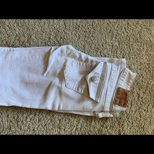 White true religion skinny jeans